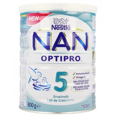 Nan optipro 5 lait croissance pdr 800g