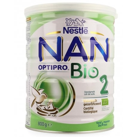 NAN Optipro 2 Bio Lait de Suite 800g