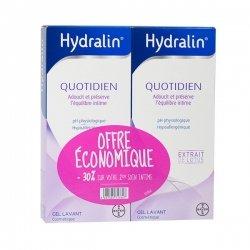 Hydralin Protection Quotidienne - Offre économique 400 ml x 2