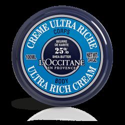L'Occitane Crème Ultra-Riche Corps Karité 100 ml