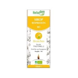 Herbalgem Sirop Respiration Bio Enfant-Adulte 150ml