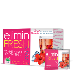 Elimin Fresh Hibiscus Fruits Rouges sachet infusions 24