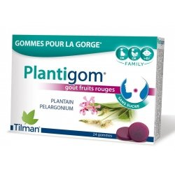 Tilman PlantigomGoût Fruits Rouges 24 gommes