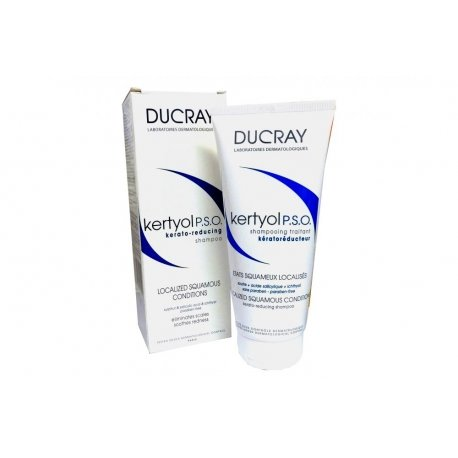 Ducray Kertyol p.s.o. shampooing traitant keratoreducteur 200ml