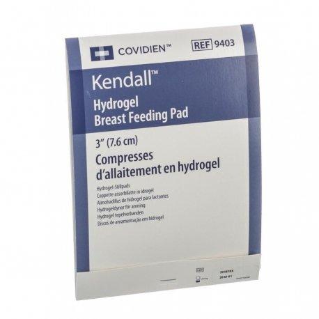"""Covidien Kendall Compresses d'allaitement HYDROGEL 3"""" (7.6CM)"""