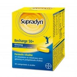 Supradyn Recharge 50+ 30 comprimés