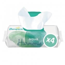 Pampers Lingettes Aqua Harmonie 2x48 unités
