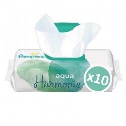 Pampers pack Lingettes Aqua Harmonie 4x48 unités (192 unités)