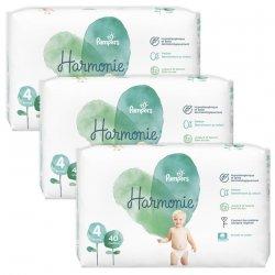 Pampers pack Harmonie T4 9-14kg Jumbo 3x40 (120 unités)