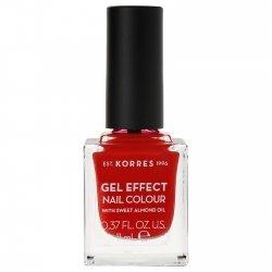 Korres Gel Effect Nail Colour Royal Red 53 11ml