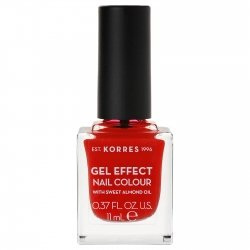 Korres Gel Effect Nail Colour Coral Red 48 11ml