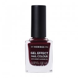 Korres Gel Effect Nail Colour Burgundy Red 57 11ml