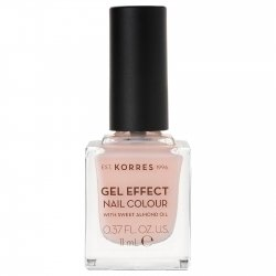Korres Gel Effect Nail Colour Peony Pink 04 11ml