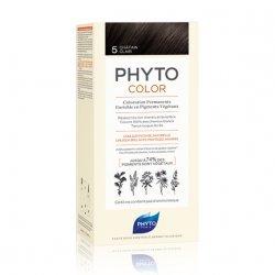 Phyto Color Coloration Permanente 5 Châtain Clair