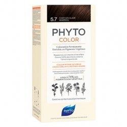Phyto Color Coloration Permanente 5.3 Châtain Clair Doré