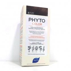 Phyto Color Coloration Permanente 6 Blond Foncé