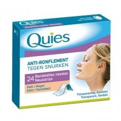 Quies a/ronflement bandelette nasale petit 24
