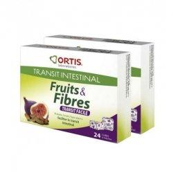 Ortis fruits & fibres transit fac. cubes 2x24