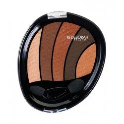 Deborah Smokey Eyes Palette Fard à Paupières 01 Bronze