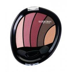 Deborah Smokey Eyes Palette Fard à Paupières 02 Rose