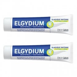 Elgydium Pack Dentifrice Blancheur Citron 2 x 75ml