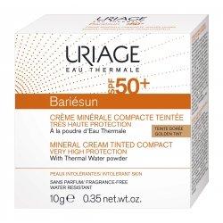 Uriage Bariésun Crème Solaire Minérale Visage Teintée Compacte Spf 50+ Doré 10g