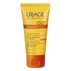 Uriage Bariésun Crème Solaire Visage Teintée Spf 50+ Doré 50ml