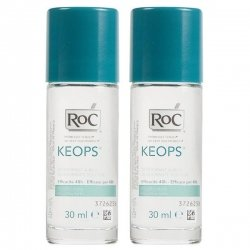 Roc Keops Duo Pack Déodorant à Bille 2x30ml