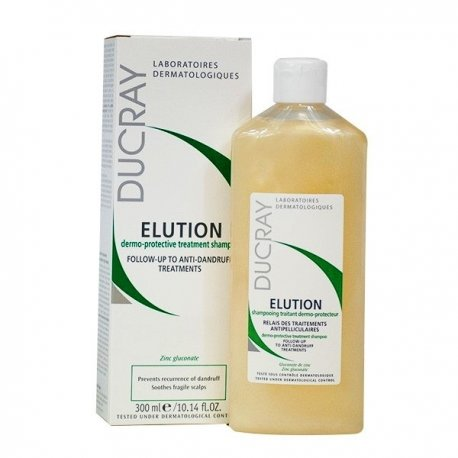 Ducray Elution shampooing cuirs chevelus sensibles 300ml