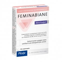 Pileje Feminabiane Méno'Confort 30 comprimés