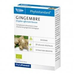 Phytostandard Gingembre 20 gélules