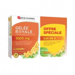 Forte Pharma Gelée Royale 1000mg 20 ampoules de 10ml