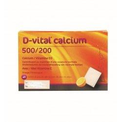 D-vital Calcium 500.200 orange 40 sachets