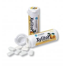 Miradent chewing gum (gomme à mâcher) xylitol fruits 30