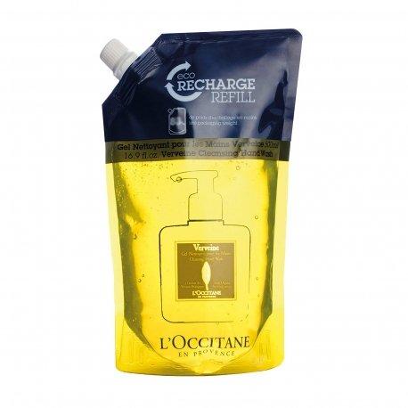 L'Occitane en Provence Eco Recharge Verveine Gel Nettoyant Mains 500ml