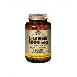 Solgar L-Lysine 1000mg 50 comprimés