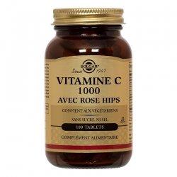 Solgar Vitamine C avec Rose Hips 100 tablets