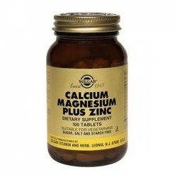 Solgar Calcium Magnésium Plus Zinc 100 tablets