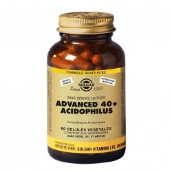 Solgar Advanced 40+ Acidophilus 60 gélules végétales