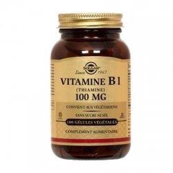 Solgar Vitamine B1 (Thiamine) 100 gélules végétales