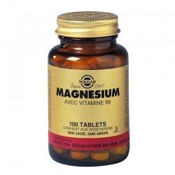 Solgar Magnésium Vitamine B6 100 comprimés