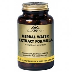 Solgar Herbal Water 100 gélules végétales