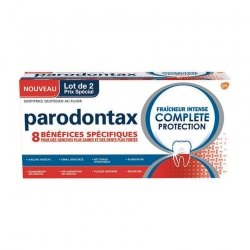Parodontax Pack Fraîcheur Intense Complete Protection 2 x 75ml