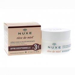 Nuxe Rêve de Miel Crème Visage Ultra-Réconfortante 50ml OFFRE EXCEPTIONNELLE