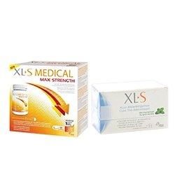 XLS Medical Max Strenght/Extra Fort (120 comprimés) + Cure Thé Amincissant Menthe 20 sachets