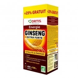 Ortis Energie Ginseng Extra Forte 400ml + 100ml GRATUIT