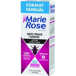 Marie Rose Lotion Extra Forte Anti-Poux & Lentes Pack Familial 200ml