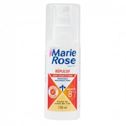 Marie Rose Spray Répulsif Anti-Moustiques Corporel 150ml