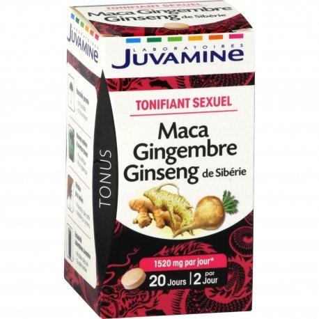 Juvamine Tonifiant Sexuel 40 comprimés