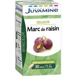 Juvamine Cellulite Marc de Raisin 30 gélules